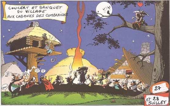 Concert aux cabanes des Combrailles en Auvergne